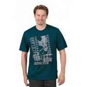 Trigema Herren T-Shirt Attitude Größe: XXXL Material: 100 % Baumwolle, Ringgarn supergekämmt Farbe: saphir