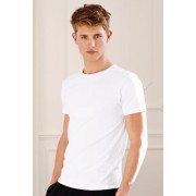 Mens Next T-Shirts Two Pack - White Tee T-Shirt