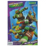 Value 2 Pack - Tmnt Teenage Mutant Ninja Turtles Giant Coloring and Activity Book 10 x15 - 2 Pack