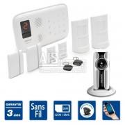 Alarme maison sans fil GSM - ELEGANTE 50 - Kit E3
