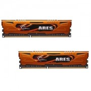 Memorie G.Skill Ares 16GB (2x8GB) DDR3 PC3-12800 CL10 1.5V 1600MHz Intel Z97 Ready Dual Channel Kit Low Profile, F3-1600C10D-16GAO