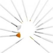 set 15 pensule profesionale pentru unghii tehnice cu gel