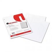 Mediumweight 16-lb. Filler Paper, 11 x 8-1/2, Wide Ruled, White, 200 Sheets/Pk