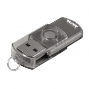 Stick Elatio Hama, 32 GB, USB 2.0, Gri