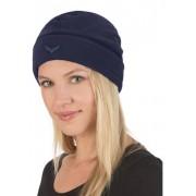 Trigema Damen Fleece Mütze Größe: 2 Material: 100 % Polyester Farbe: navy