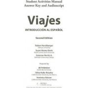 Sam Answer Key and Audio Script for Hershberger/Navey-Davis/Borras A.'s Viajes: Introduccion Al Espanol, 2nd by Robert Hershberger
