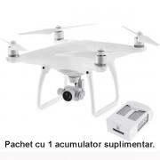 Drona DJI Phantom 4 cu acumulator suplimentar