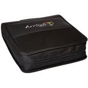 Arriba Cases Al-200 Durable Cd Dvd Travel Case Dimensions 15X13X4 Inches