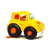 HALO NATION Shape Sorter Car With Learn Shapes , Color & Also Comes with Sand Play Tools