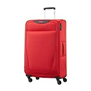 Samsonite Base Hits Spinner 77/28 Expandable Suitcase, 77 cm, 104 L, Poppy Red