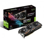 Placa video ASUS ROG Strix Gaming GeForce GTX 1080, 1695 (1835) MHz, 8GB GDDR5X, 256-bit, DVI-D, 2x HDMI, 2x DP, STRIX-GTX1080-A8G-GAMING