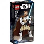 Сглобяема фигура Лего Стар Уорс - Оби-Уан Къноби - LEGO Star Wars, 75109