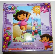 Dora The Explorer 24 Piece Puzzle - Dora and Boots at the Beach