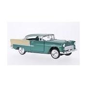 Chevrolet Bel Air 1955 green Motormax 1:24