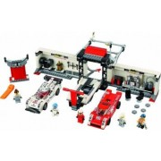 Set Constructie Lego Speed Champions Porsche 919 Hybrid Si 917k Pit Lane