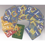 Jeu Anglais : Treble, The Dinotopian Card Game