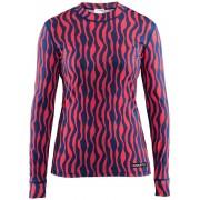 Craft Mix and Match Top Women P Zebra Deep M Langarm Shirts