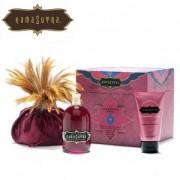 Boîte aux trésors, produits de massage parfum Framboise