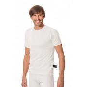 Trigema Herren Funktions-Shirt Größe: XXXL Material: Innen: 66 % Baumwolle, 22 % PES, 12 % Silberfaser Farbe: weiss