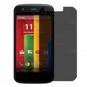 Folie protectie PRIVACY sticla securizata Motorola Moto E