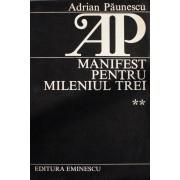 Manifest pentru mileniul trei