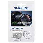 Samsung Pro SDXC 64GB (class 10) UHS-I (MB-SG64E/EU)