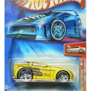 Hot Wheels 2004 099 FIRST EDITIONS 'TOONED 2005 CORVETTE 99/100 1:64 Scale