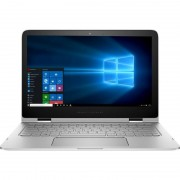 Laptop HP Spectre Pro x360 G2 13.3 inch Quad HD Touch Intel Core i7-6500U 8GB DDR3 512GB SSD Windows 10 Pro Silver
