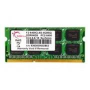 G.Skill 4GB PC2-6400 4GB DDR2 800MHz memoria