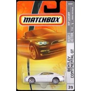 Matchbox 2008 Vip Luxury Pearl Bentley Continental Gt #039 Of 100