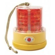 Girofar magnetic LED cu baterii
