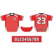 FLOORBEE Uniform RN XXXXL červená / bílá