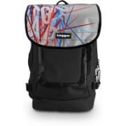 Tagger Urban Electro Mikado Blsv Olbk (Black) Top Loaded Ultimate 21 L Laptop Backpack(Black)