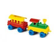 Hemar 49 x 12 x 15 cm 2-Part Train K3 Blocks