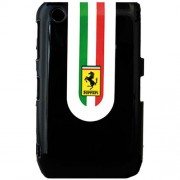 Husa Capac spate Negru BLACKBERRY Curve 8520 Ferrari