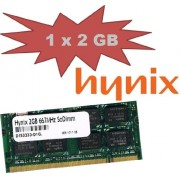 Hynix Original 2 GB 200 pin SO-DIMM DDR2 - 667 (PC2 - 5300) 128 Mx8 x 16 double side (hymp125s64cp8 - Y5) per Notebooks + Netbook