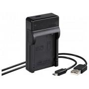 Hama Travel USB Canon LP-E8 încărcător baterie