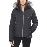 Salomon Icetown Jacket Women black L Winterjacken