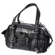 Plecak, torebka rockowa z ćwiekami i kastetem - BECCA BAG