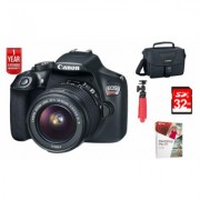 Canon EOS Rebel T6 DSLR Camera: 18-55mm and 75-300mm Dual Zoom Kit 32GB Bundle (56034951)