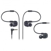 Audio-Technica ATH-IM50 Dual symphonic-driver In-ear Monitor headphones Black (Japan Import)