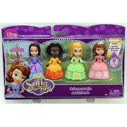 "Disney Sofia The First 3"" Figure 4-Pack - Princess Sofia, Ruby, Jade & Amber by Mattel"