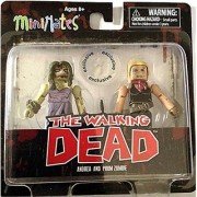 The Walking Dead Comic Book Minimates Series 7 Andrea and Prom Zombie Exclusive Minifigure 2-Pack