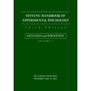 Stevens' Handbook of Experimental Psychology, Third Edition, Volume One by Hal Pashler