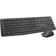 Kit tastatura si mouse wireless Logitech MK235