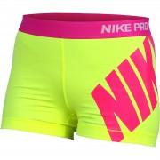"Pantaloni scurti femei Nike Pro 3"" Logo 642645-702"