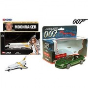 James Bond Set Definitive Bond Space Shuttle Moonraker Jaguar XKR Roadster Die Another Day 007