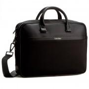 Laptoptáska CALVIN KLEIN BLACK LABEL - Elias Slim Laptop Bag K50K502412 001