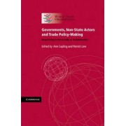 Governments, Non-State Actors and Trade Policy-Making by World Trade Organization