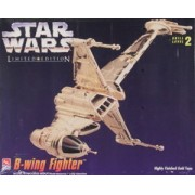 Star Wars Limited Edition Gold Tone B-wing Fighter Model Kit